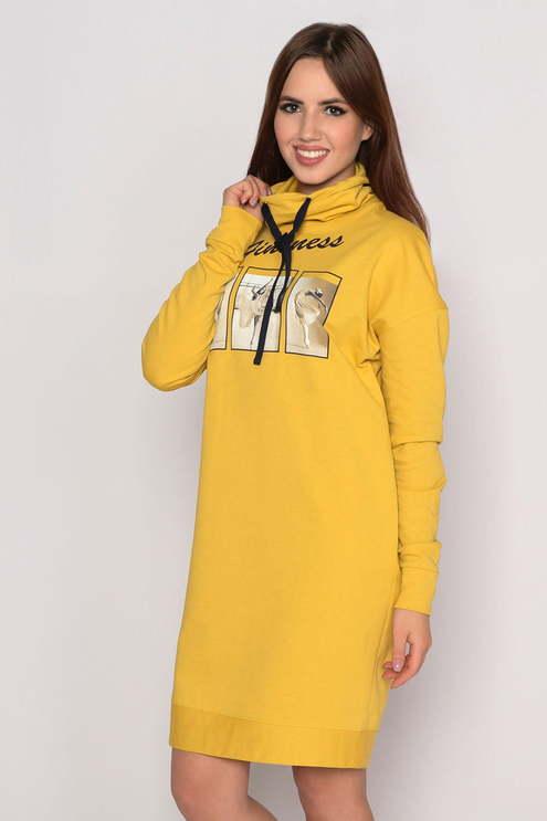 "Платье ""Майя"", горчица"