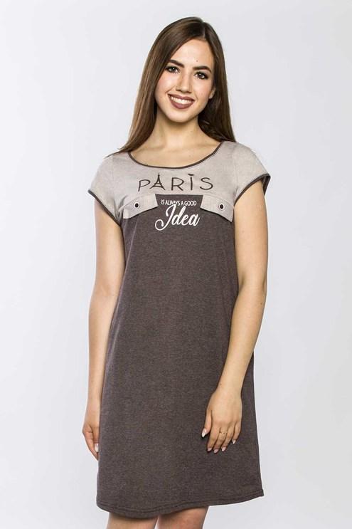 "Платье ""IDEA"", коричневая"